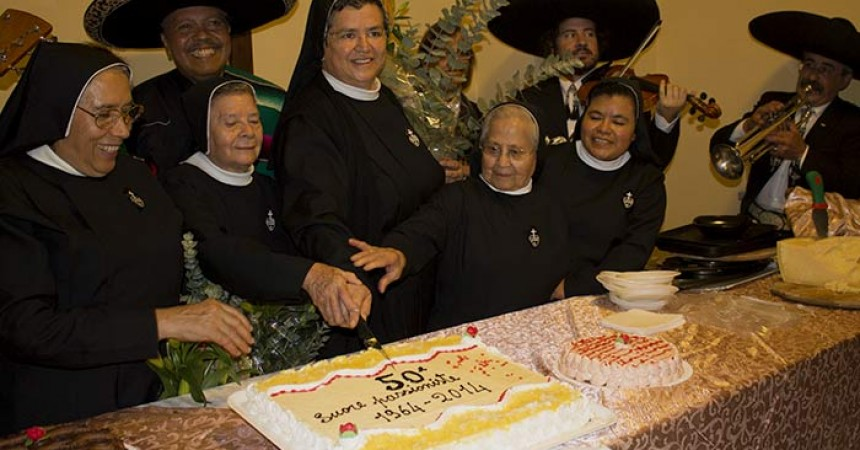 Daughters of the Passion celebrate 50 years of service to SS. Giovanni e Paolo