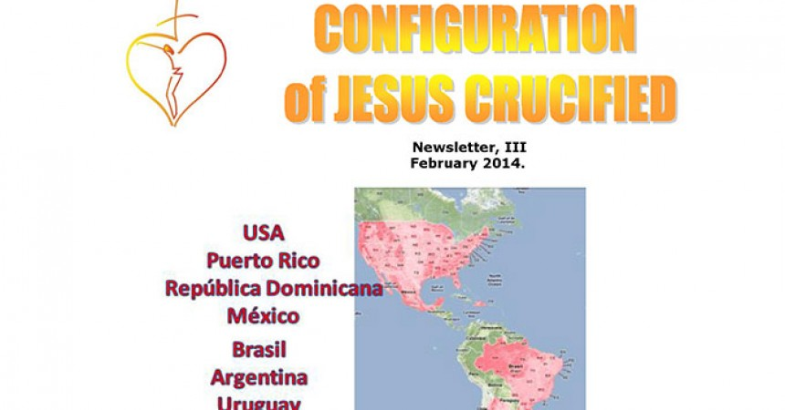 The Configuration of Jesus Crucified has published a new Newsletter