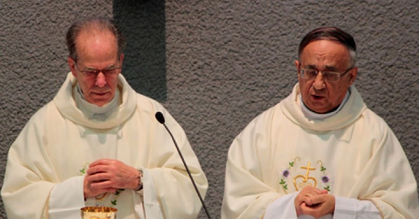 2 Portuguese Passionists celebrated their 50th Sacerdotal Anniversary