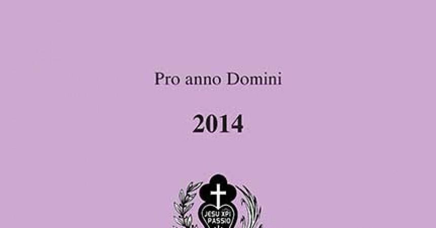 Liturgical Calendar 2014 (Latin)