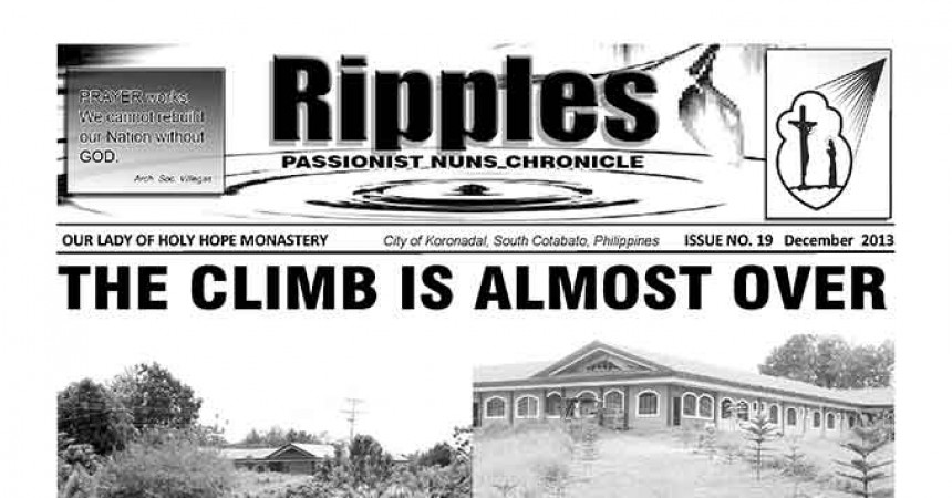 "New Edition of ""Ripples"" Newsletter"