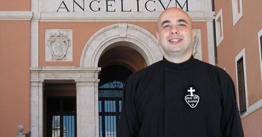 Un Passionista insegnera nella Pontificia Universita San Tommaso Angelicum di Roma