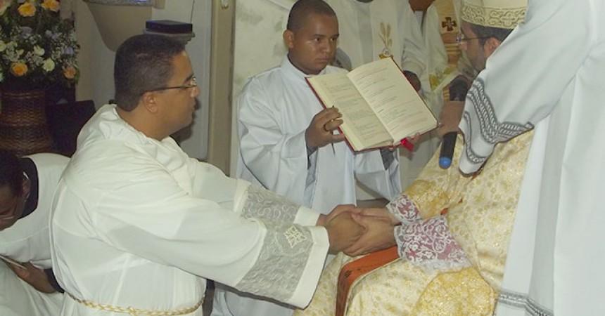 Diaconate Ordination of Edilberto Junior da Cruz
