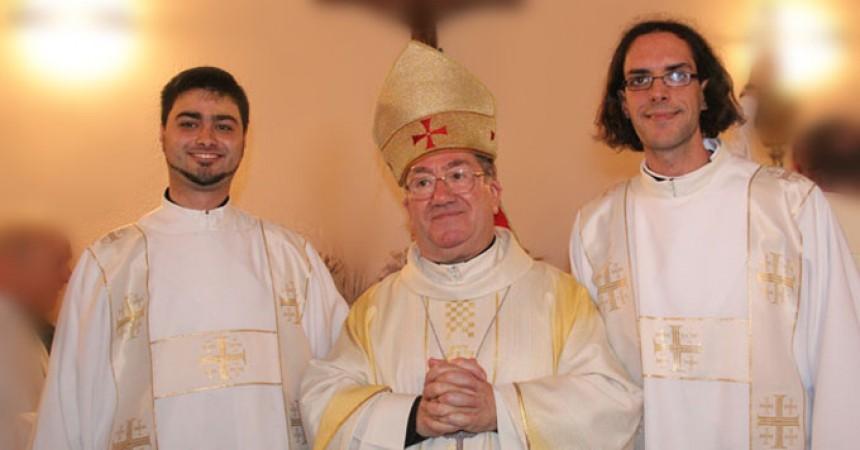 Diaconal Ordination of Revs. Daniel Galindo Valcarjel and David Arranz Bermejo