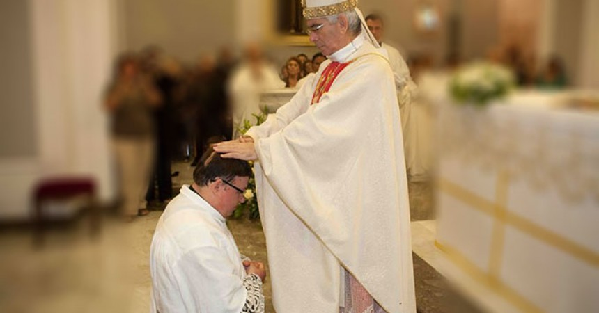 Fr. Filippo Pisciotta of the Most Holy Crucifix  has been ordained priest