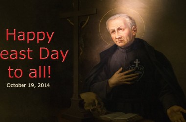 Feast Day of St. Paul of the Cross