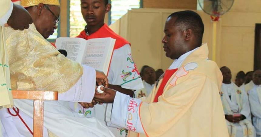 Presbyteral Ordination of Fr. Engelbert Kilasara, CP