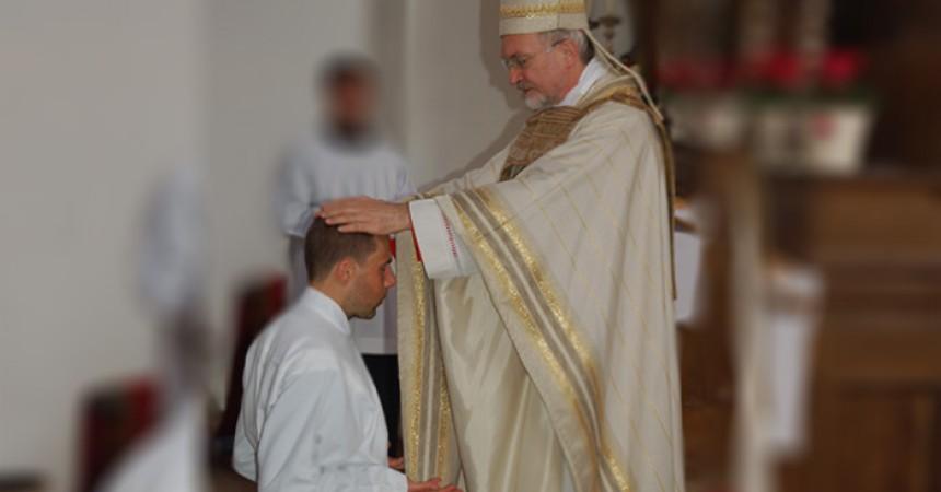 Confr. Markus Seidler, CP ha ricevuto l'ordinazione Diaconale