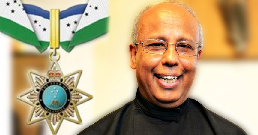 """Fr. General is awarded with """"Companion of the Order of the Star of Melanesia"""""""