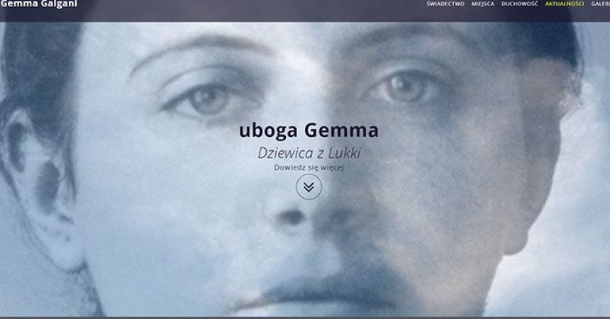 The Province ASSUM (Poland) has launched a new website: www.swietagemma.pl