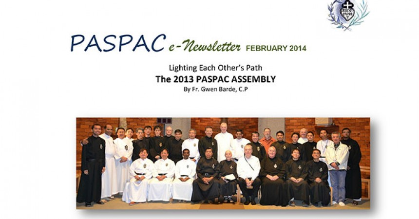 "New Edition of ""PASPAC E-Newsletter"""