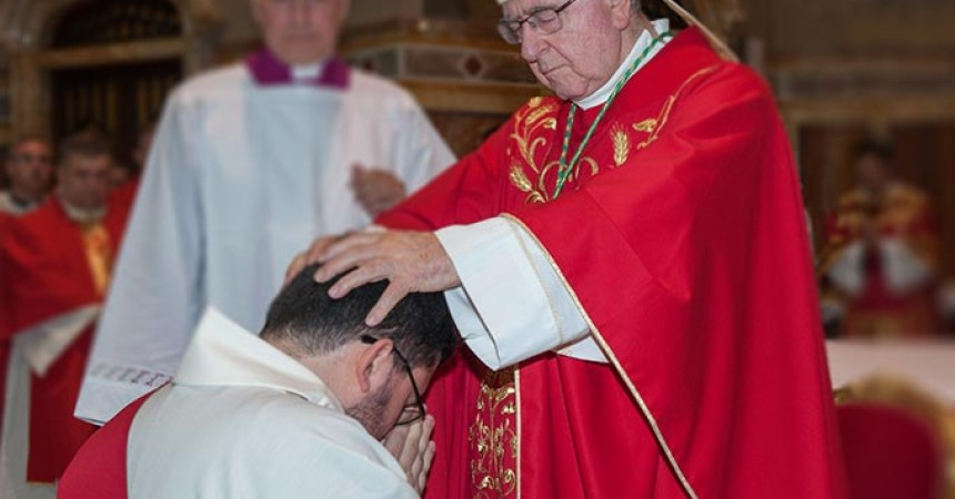 Presbyteral Ordination of Fr. Marco Ermano of the Merciful Jesus