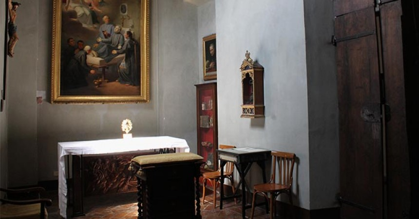 Funding for the Restoration of the Room of St. Paul of the Cross