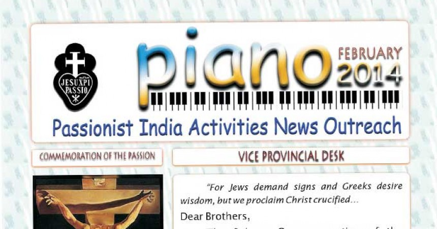 "THOM Province published new ""PIANO"" Newsletter"