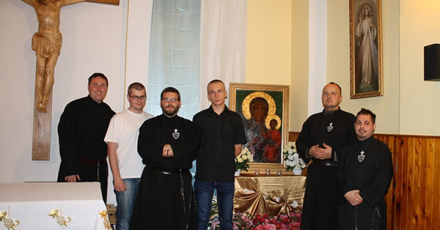 Meeting of young Passionist religious of the Configuration of Northern Europe