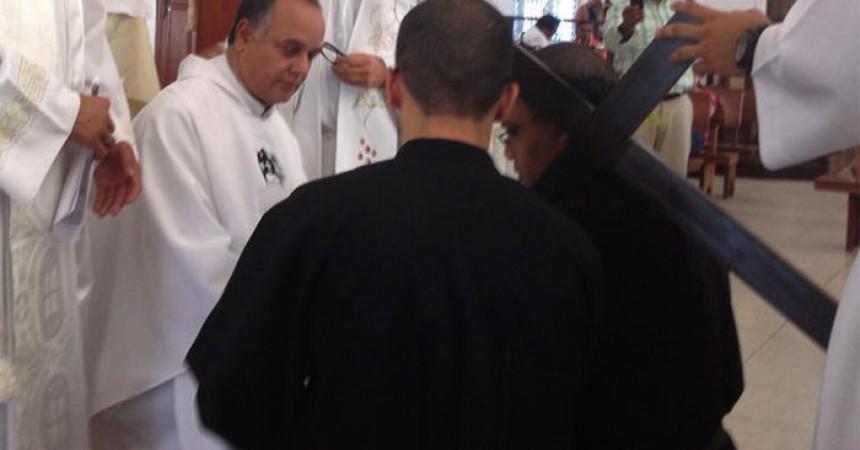 Professione Perpetua di Confr. Santiago Alberto Valerio, C.P.