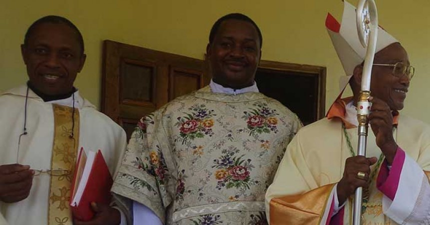 Perpetual Profession and Diaconate ordination in the Vicariate of St. Gemma (GEMM), Tanzania
