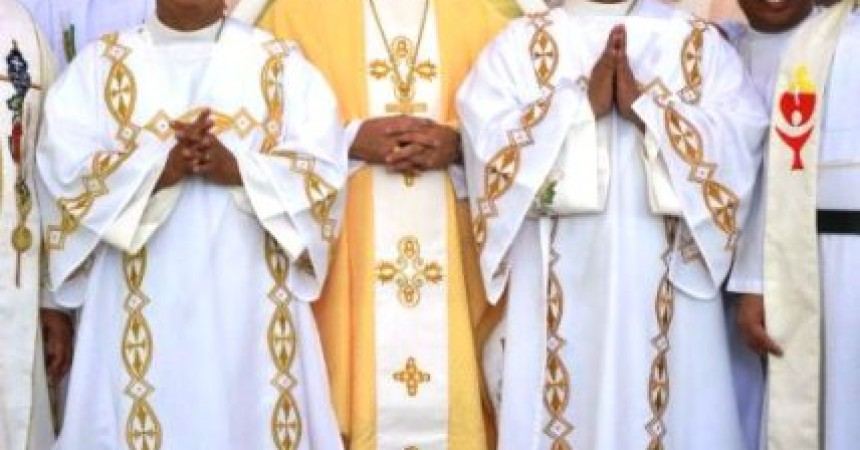 Vivien Nuera and Alexander Arellano ordained to the Holy Order of Deacons