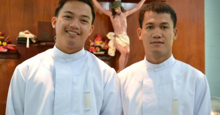 Vestition and Acceptance to the Novitiate of Bro Lorenzo Payot and Bro Froilan Somodio – PASS