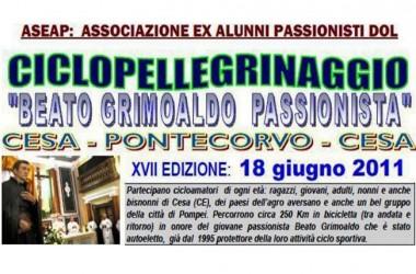 17th Bike-Pilgrimage in honor of Blessed Grimoaldo Santamaria CP