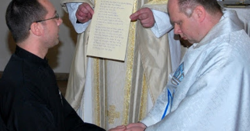 News and pictures of the Perpetual Profession of Matthias Maria Leykamm – VULN