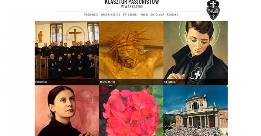 New Website of the Passionist Community in Warsaw, Poland