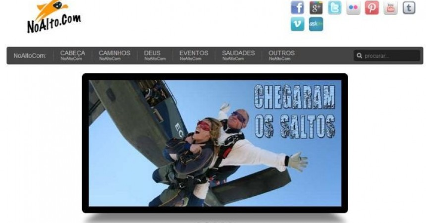 Il sito web dei giovani passionisti in Portogallo