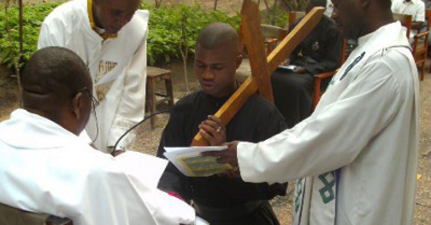 First Profession in D. R. of Congo – SALV