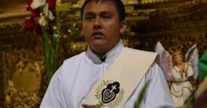 Diaconate of Fr. Roger Tamay Ram