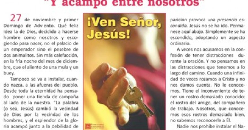 "The new issue of ""Santa Gema"""