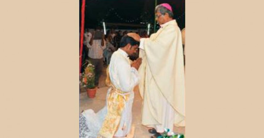 Fr. Vimal Backiyara, C.P. was ordained priest in India (THOM)