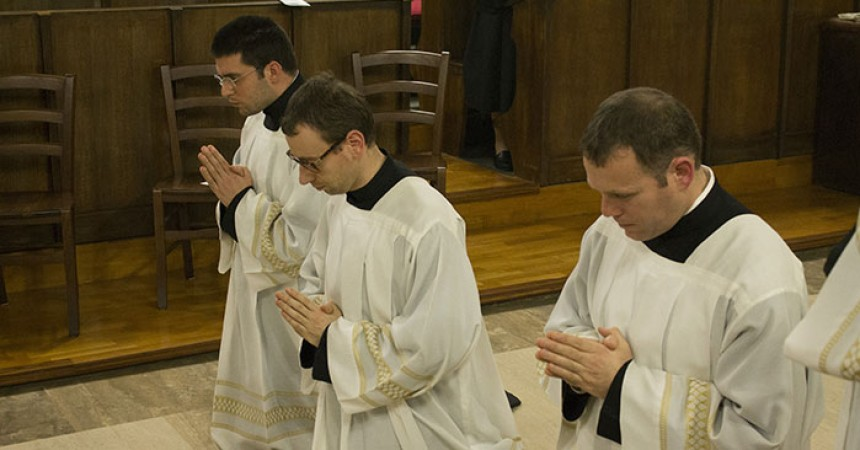 Ministry of Acolyte in Retreat of Sts. John ad Paul