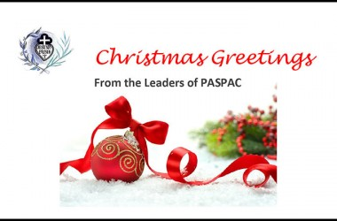 Christmas Greetings from the Leaders of PASPAC