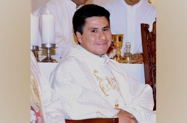 Fr. Wilmer Guevara Fuentes, CP is ordained priest in Peru