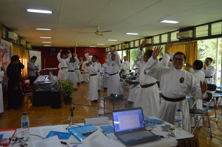"The elections began with the traditional ""Veni Creator Spiritus"" – followed by a dance..."