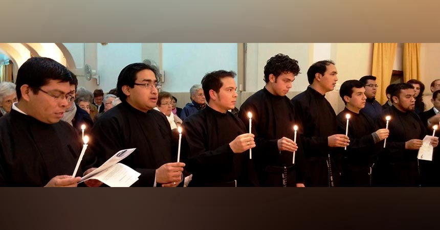 7 Passionists professed their First Vows in Daimiel, Spain