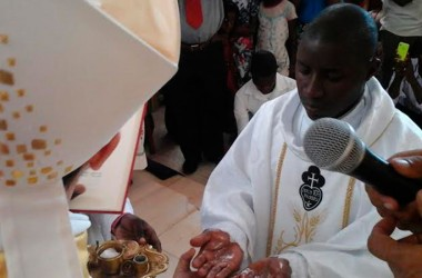 Dcn. Latifo Fonseca, CP was ordained to the priesthood in Mozambique