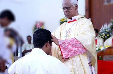 Sacerdotal Ordination of Fr. Binu Johnson, C.P. in India