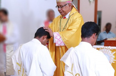 2 Passionists were ordained priests in India