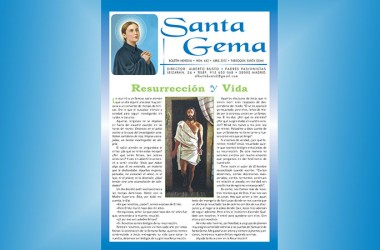 "New Edition of ""Santa Gema"" Magazine"