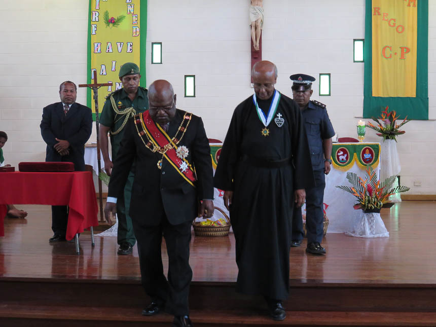 Fr Joachim PNG civilian honor medal-1