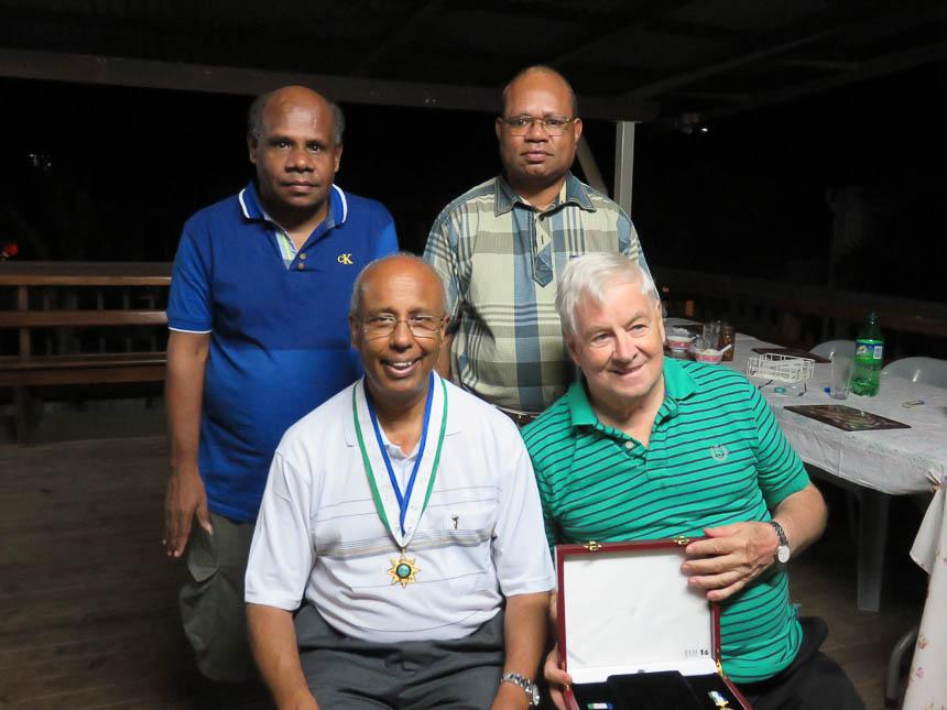 Fr Joachim PNG civilian honor medal-3