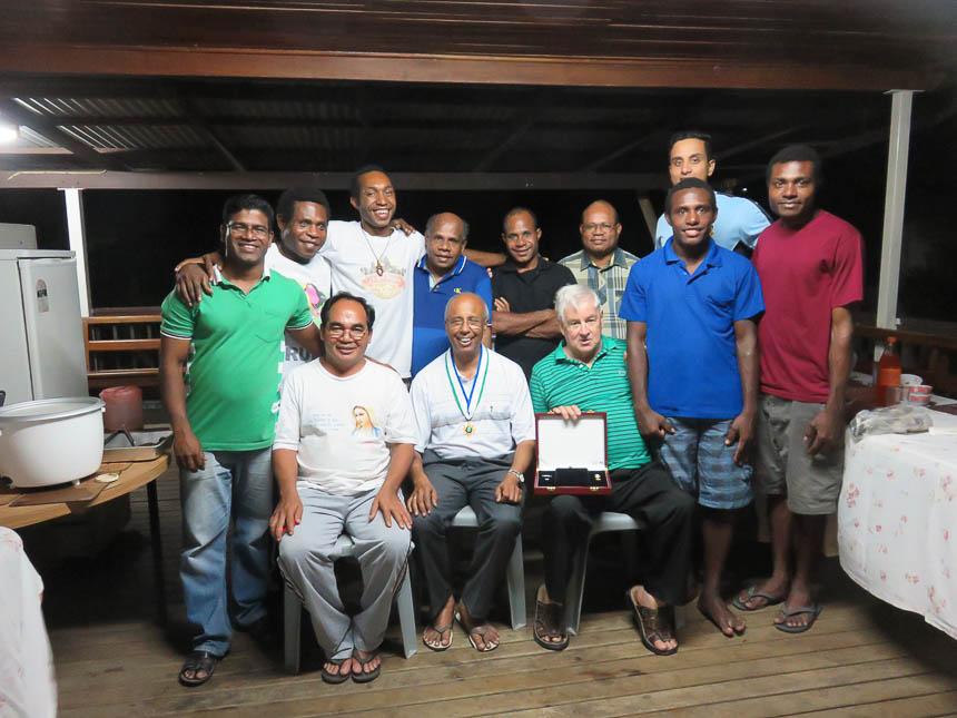 Fr Joachim PNG civilian honor medal-4