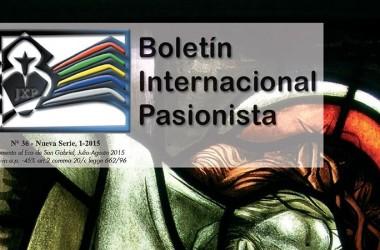 """Nueva edición del """"Boletín Internacional Pasionista"""""""
