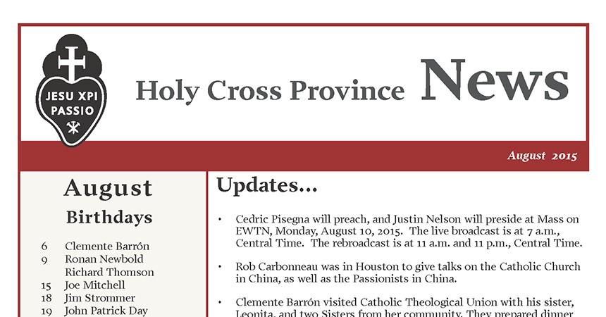 Boletín de la Provincia de la Santa Cruz