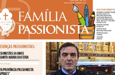 """Newsletter of Our Lady of Fatima Province in Portugal, """"Família Passionista"""""""