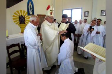 Ordinazione diaconale di Christian Américo Chicas Aguillón