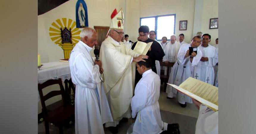 Diaconate Ordination of Rev. Christian Américo Chicas Aguillón