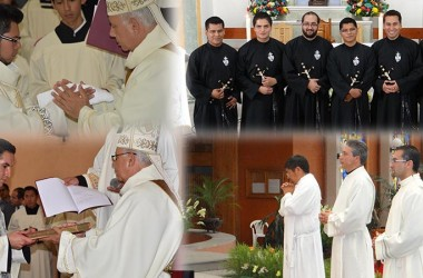 Ordinations and Professions in Mexico
