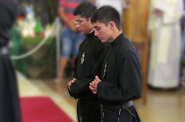 Perpetual Profession in Lima, Peru